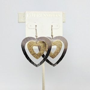 Impressions Jewelry - 💢3 for $25💢Impressions SilverGold Heart Earrings